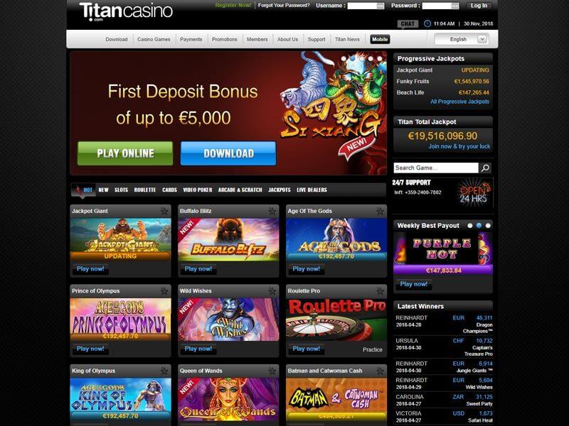 Casino Titan Download